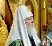 Святейший Патриарх Кирилл: Мы должны делать все для того, чтобы на пространствах Святой Руси грех никогда не утверждался законом государства