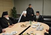 В Москву прибыл Предстоятель Православной Церкви в Америке