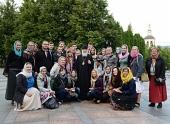 Святейший Патриарх Кирилл встретился с группой польской молодежи