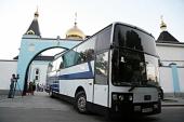 Православные паломники из Ингушетии поклонились Андреевскому кресту