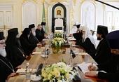 Состоялась встреча Предстоятелей Русской и Грузинской Православных Церквей