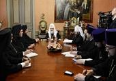 Святейший Патриарх Кирилл встретился с делегацией Константинопольского Патриархата