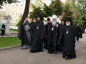 Блаженнейший Митрополит всей Америки и Канады Тихон посетил Московскую духовную академию