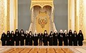 Президент России встретился с Предстоятелями и представителями Поместных Православных Церквей