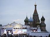 На Красной площади в Москве прошел концерт, посвященный 1025-летию Крещения Руси