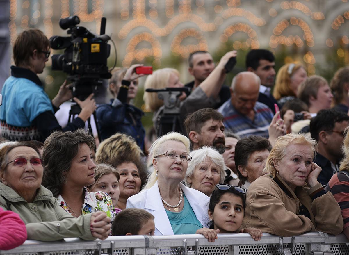 Концерт на Красной площади, посвященный 1025-летию Крещения Руси