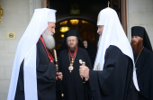 Предстоятель Русской Православной Церкви встретился со Святейшим Патриархом Болгарским Неофитом