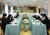 В Киево-Печерской лавре прошло очередное заседание Священного Синода Русской Православной Церкви