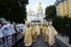 Патриаршее служение в канун дня памяти святого равноапостольного князя Владимира в Киево-Печерской лавре
