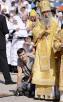 Совместное служение Предстоятелей и иерархов Поместных Православных Церквей в Киево-Печерской лавре в день памяти святого равноапостольного князя Владимира
