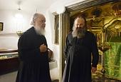 Святейший Патриарх Кирилл поклонился святыням Ближних пещер Киево-Печерской лавры