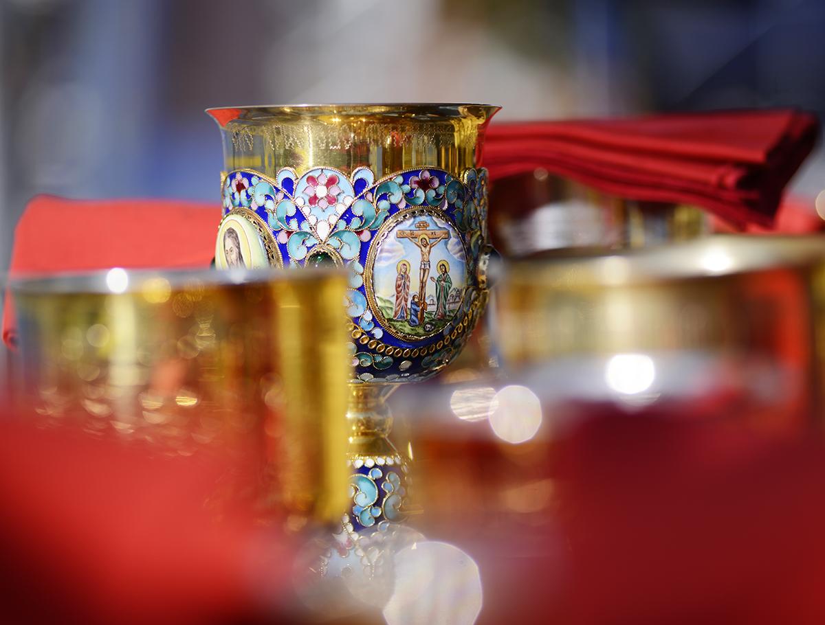 Совместное служение Предстоятелей и иерархов Поместных Православных Церквей на Минском Замчище по случаю 1025-летия Крещения Руси