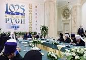 Святейший Патриарх Кирилл и Предстоятели Поместных Церквей встретились с Президентом Белоруссии А.Г. Лукашенко