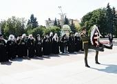 Предстоятели и представители Поместных Церквей почтили в Минске память воинов Великой Отечественной войны