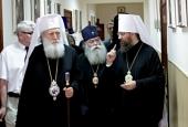 Святейший Патриарх Болгарский Неофит посетил Киевскую духовную академию