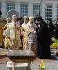 Закладка памятной грамоты в честь 1025-летия Крещения Руси на месте древнейшего храма Минска