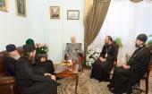 Митрополит Киевский Владимир встретился с Предстоятелем Болгарской Православной Церкви