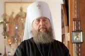 Патриаршее поздравление митрополиту Астанайскому Александру с 30-летием служения в священном сане
