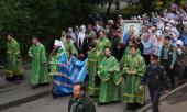 Состоялся традиционный крестный ход из Сарова в Дивеево с мощами преподобного Серафима Саровского