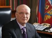 Поздравление Святейшего Патриарха Кирилла губернатору Оренбургской области Ю.А. Бергу с 60-летием со дня рождения