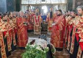 Наместник Киево-Печерской лавры совершил чин отпевания архимандрита Лонгина (Чернухи)