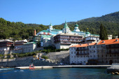 Делегация Русской Православной Церкви прибыла на Афон