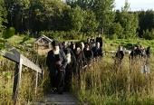 Предстоятель Русской Церкви посетил Филиппову пустынь Соловецкого монастыря