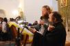 Патриарший визит на Соловки. Всенощное бдение в Преображенском соборе Соловецкого монастыря