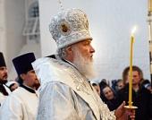 Слово Святейшего Патриарха Кирилла после всенощного бдения в Преображенском соборе Соловецкого монастыря