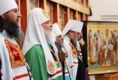 Проповедь Святейшего Патриарха Кирилла в праздник Преображения Господня в Соловецком монастыре