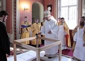 Епископ Выборгский и Приозерский Игнатий совершил освящение восстановленного Спасо-Преображенского кафедрального собора г. Выборга