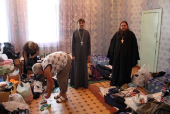 Синодальный отдел по благотворительности перечислил 419 тыс. рублей пострадавшим от наводнения в Биробиджанской епархии