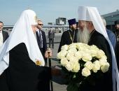 Святейший Патриарх Кирилл прибыл в Новосибирск