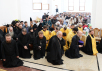 Патриарший визит в Новосибирскую митрополию. Освящение верхнего храма Троице-Владимирского собора г. Новосибирска. Божественная литургия