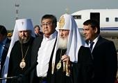 Святейший Патриарх Кирилл прибыл в Новокузнецк