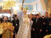 Предстоятель Русской Церкви освятил в Новокузнецке храм Рождества Христова в память о погибших шахтерах