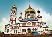 Храм Рождества Христова в г. Новокузнецке в память о погибших шахтерах Кузбасса