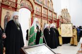 Слово Святейшего Патриарха Кирилла по окончании Литургии в Троице-Владимирском соборе г. Новосибирска
