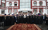 Предстоятель Русской Церкви совершил освящение нового здания Кузбасской духовной семинарии