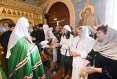 Святейший Патриарх Кирилл встретился с близкими погибших шахтеров Кузбасса