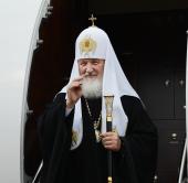 Завершился визит Святейшего Патриарха Кирилла в Кузбасскую митрополию