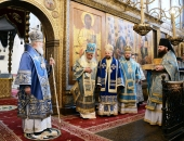 Святейший Патриарх Кирилл: Провозглашая целью своей борьбы справедливость, злые силы в Сирии несут смерть, разрушения и убийства христиан