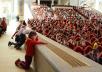 Праздник для московских первоклассников из многодетных семей в Храме Христа Спасителя