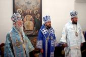 В праздник Успения Пресвятой Богородицы митрополит Волоколамский Иларион совершил Литургию в монастыре Лепавина (Хорватия)