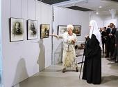 Святейший Патриарх Кирилл принял участие в открытии Культурно-выставочного центра имени Тенишевых в Смоленске