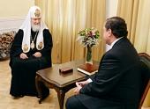 Святейший Патриарх Кирилл встретился с губернатором Смоленской области А.В. Островским