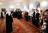 Состоялась встреча Святейшего Патриарха Кирилла с руководителями проектов конкурса «Православная инициатива» от Смоленской епархии