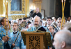 Патриарший визит в Смоленскую епархию. Литургия в Успенском соборе Смоленска