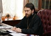 Интервью митрополита Волоколамского Илариона итальянскому информационному порталу AsiaNews