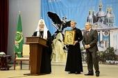 Встреча Святейшего Патриарха Кирилла со студентами высших учебных заведений Смоленской области. Ответы на вопросы